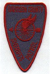 Sheriff: NC, Davidson Co. Sheriffs Patrol Patch (grey/red)