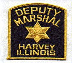 Sheriff: IL, Harvey Deputy Marshal (old, yellow star)
