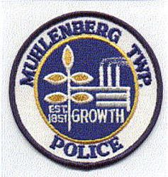 Muhlenberg Twp. Police Patch (PA)