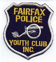 Fairfax Police Youth Club Inc. Patch (large) (VA)