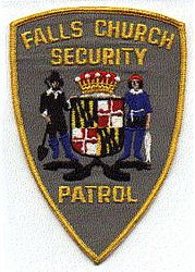 Falls Church Security Patrol Patch (VA)