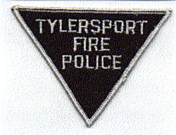 Misc: Tylersport Fire Police Patch (black/gray)