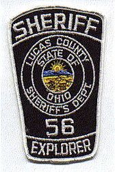 Sheriff: OH, Lucas Co. Sheriff Explorer 56 Patch
