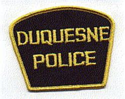 Duquesne Police Patch (black/yellow) (PA)
