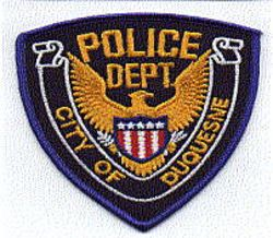 Duquesne City Police Patch (PA)