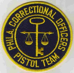 Philadelphia Correctional Officers Pistol Team Patch (PA)