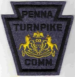 Penna. Turnpike Comm. Patch (felt) (PA)