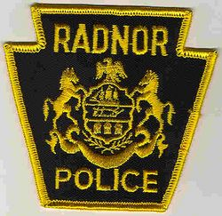 Radnor Police Patch (yellow) (PA)