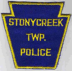 Stonycreek Twp. Police Patch (blue/yellow) (PA)