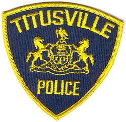 Titusville Police Patch (PA)