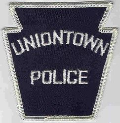 Uniontown Police Patch (white edge, twill) (PA)