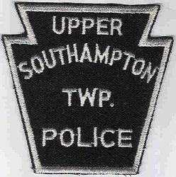 Upper Southampton Twp. Police (black/white, keystone,twill) (PA)