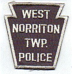 West Norriton Twp. Police Patch (white/gray) (PA)