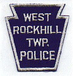 West Rockhill Twp. Police Patch (white edge, twill) (PA)