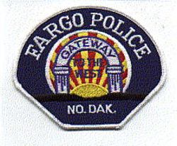 Fargo Gateway to the West Police Patch (white edge) (ND)