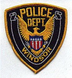Windsor Police Patch (yellow edge) (PA)
