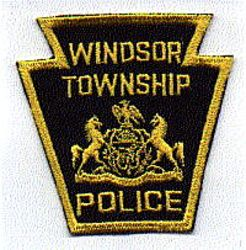 Windsor Twp. Police Patch (twill) (PA)