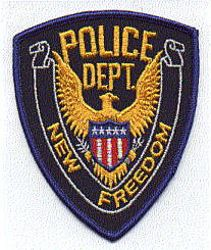 New Freedom Police Patch (PA)