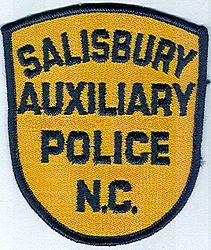 Salisbury Aux. Police Patch (NC)