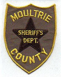 Sheriff: IL, Moultrie Co. Sheriffs Dept. Patch (brown star)