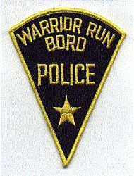 Warrior Run Boro Police Patch (PA)