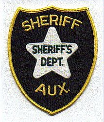 Misc: Sheriffs Dept. Sheriff Aux. Patch