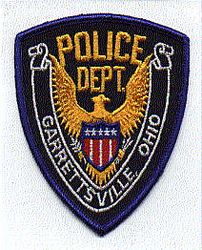 Garrettsville Police Patch (blue edge) (OH)