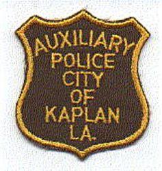 Kaplan Aux. Police Patch (LA)
