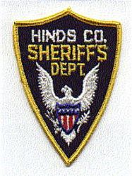 Sheriff: MS, Hinds Co. Sheriffs Dept. Patch