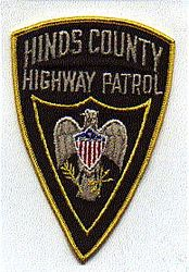 Hinds Co. Highway Patrol Patch (MS)