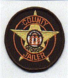 County Jailer Patch (GA)