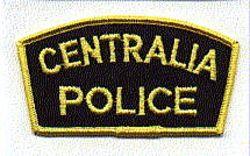 Centralia Police Patch (WA)