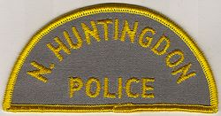 N. Huntingdon Police Patch (PA)