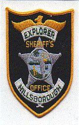 Sheriff: FL, Hillsborough Explorer Sheriffs Office Patch