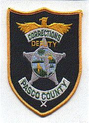 Sheriff: FL, Pasco Co. Corrections Deputy Patch