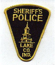 Sheriff: IN, Lake Co. Sheriffs Police Patch