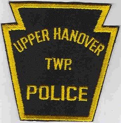 Upper Hanover Twp. Police Patch (PA)