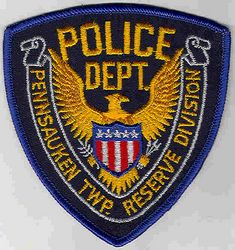 Pennsauken Twp. Reserve Division Police Patch (PA)