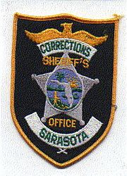 Sheriff: FL, Sarasota Corrections Sheriffs Office Patch