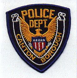 Canton Borough Police Patch (PA)