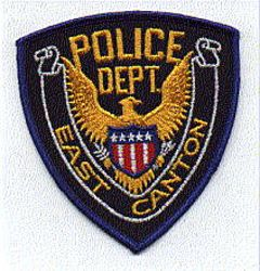 East Canton Police Patch (blue edge) (OH)