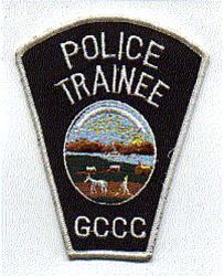 GCCC Police Trainee Patch (KS)