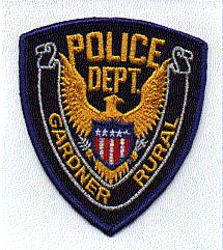Gardner Rural Police Patch (MA)