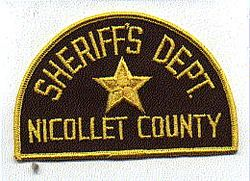 Sheriff: MN, Nicollet Co. Sheriffs Dept. Patch