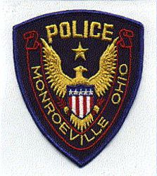 Monroeville Police Patch (blue edge) (OH)