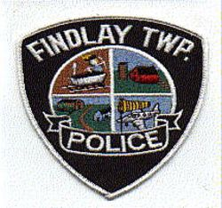 Findlay Twp. Police Patch (white edge) (PA)