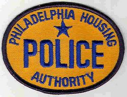 Philadelphia Housing Authority Police Patch (orange oval)(PA)