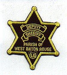 Sheriff: LA, West Baton Rouge Deputy Sheriff Patch