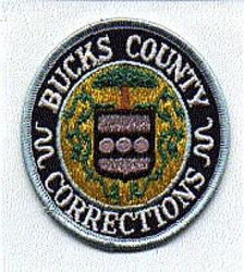 Bucks Co. Corrections Patch (PA)