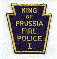 King of Prussia Fire Police Patch (PA)